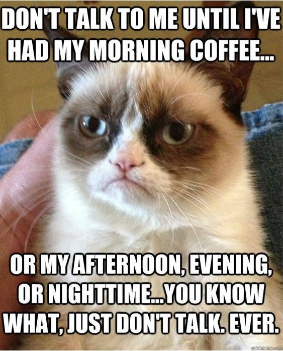 """37 Memes That Will Make Every Coffee Lover Say """"That's Me"""" #coffeeBuzz"""