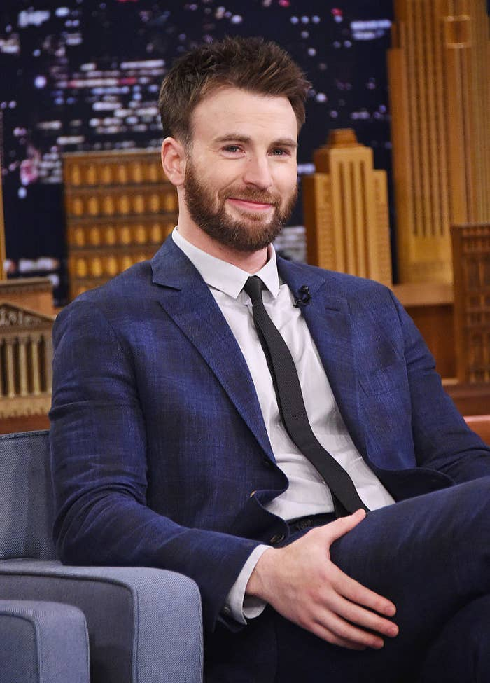 Every once in a while he's Captain America, but he's Captain of My Heart every damn day of the week.