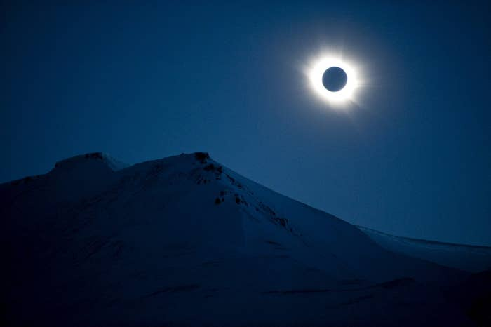 A total solar eclipse in Norway in 2015.