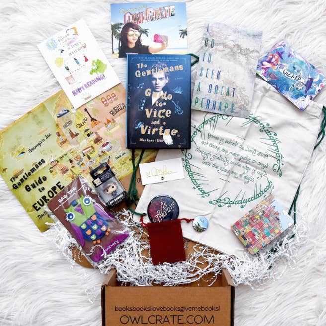 Price: Starting at $29.99About this box: OwlCrate is an adorably successful  book box