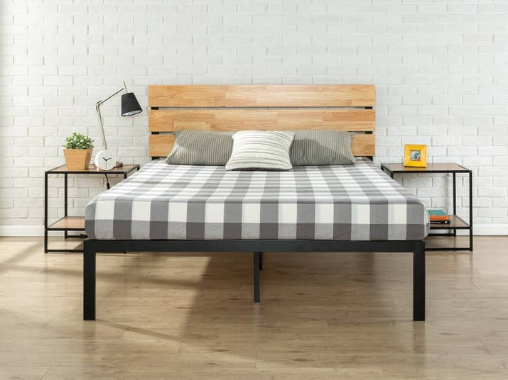 Promising Review QuotNice Looking Bed Frame And Headboard Great Price