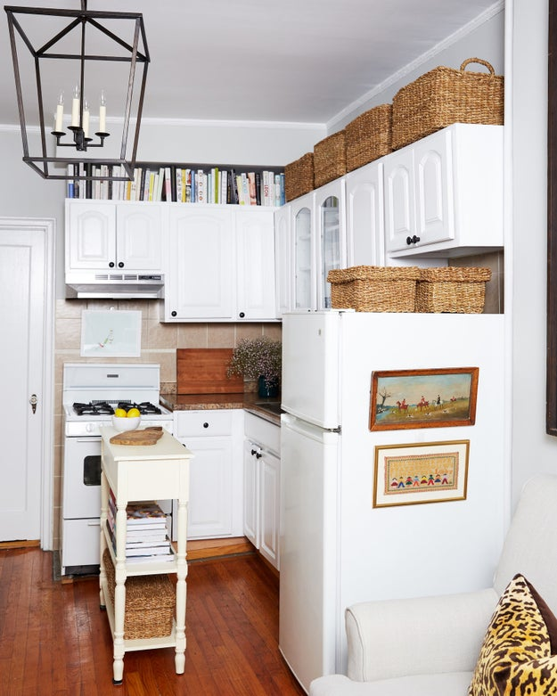 Space Above Kitchen Cabinets: 24 Storage Ideas For When You Have No More Fucking Space