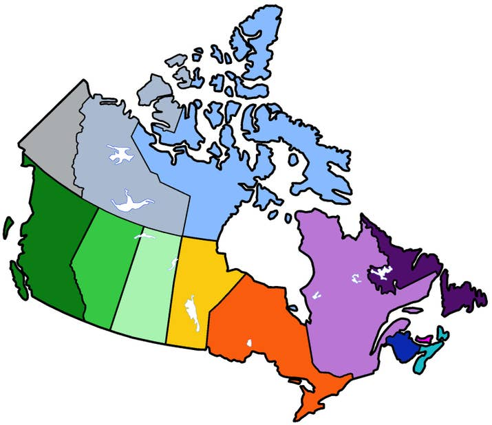 If You Get Less Than On This Quiz Youre Probably An American - Canada map quiz