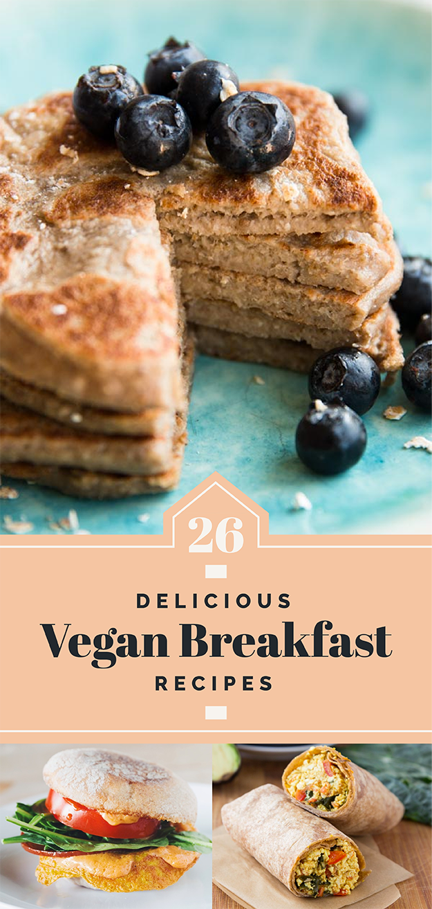 26 Delicious Vegan Breakfast Ideas You'll Want To Wake Up For
