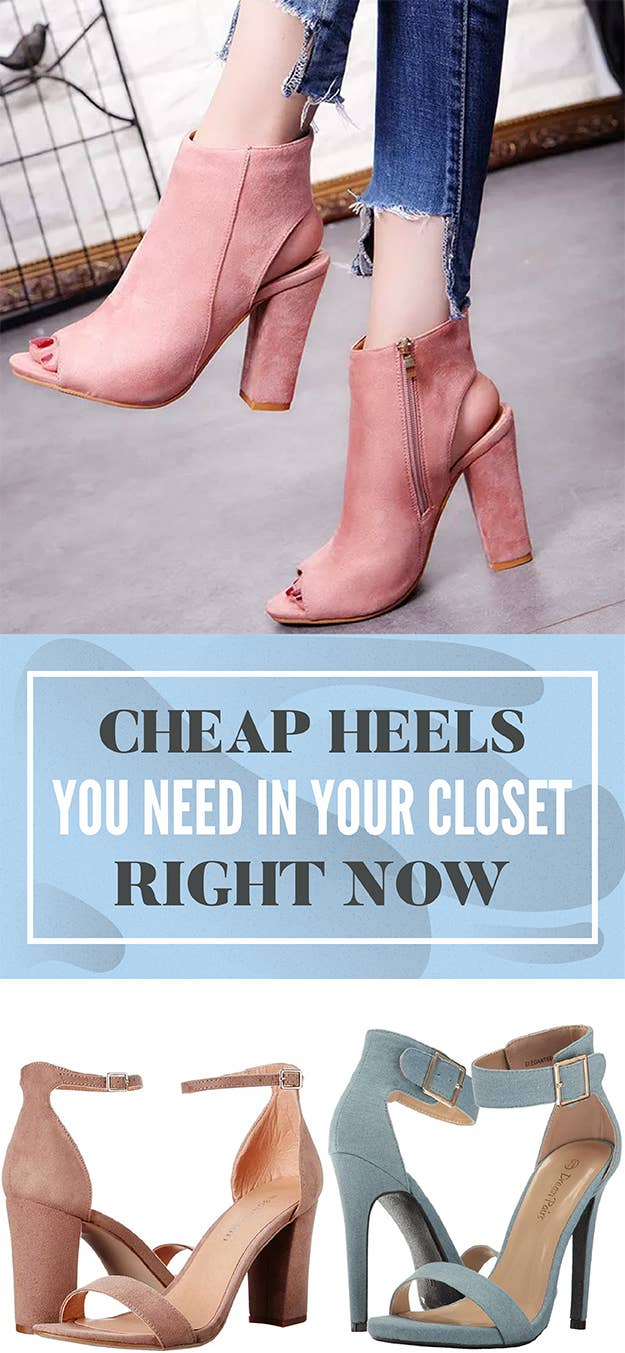 d4c8fa3abd0 27 Comfy And Cheap Heels You Need In Your Closet Right Now