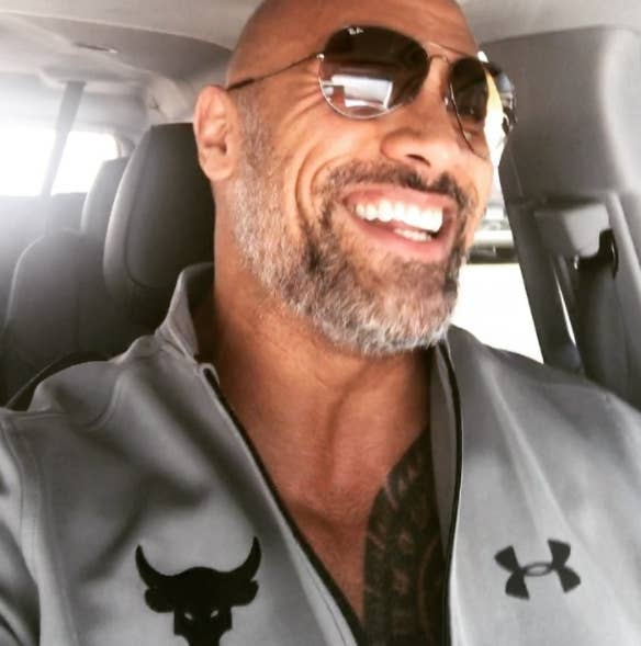 Dwayne Johnson Poses For Photos As He Arrive On The Red Carpet Premiere Of His Latest Hercules In Sydney Australia Thursday June 19 2016