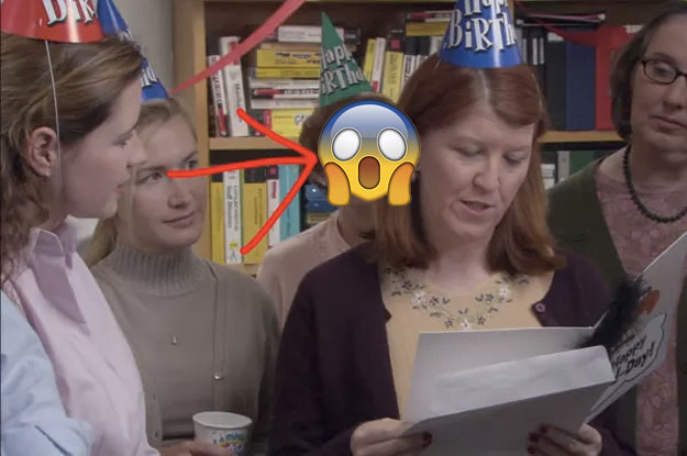 "So ""The Office"" Had A Mysterious Character You Never Noticed Just Chillin' In The Background And WTF"