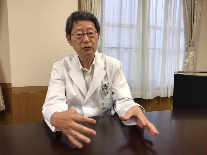 心停止の時の対応について説明する三田村秀雄さん
