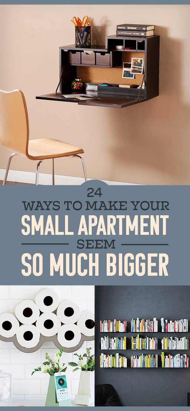 26 Ways To Make Your Small Apartment Seem So Much Bigger
