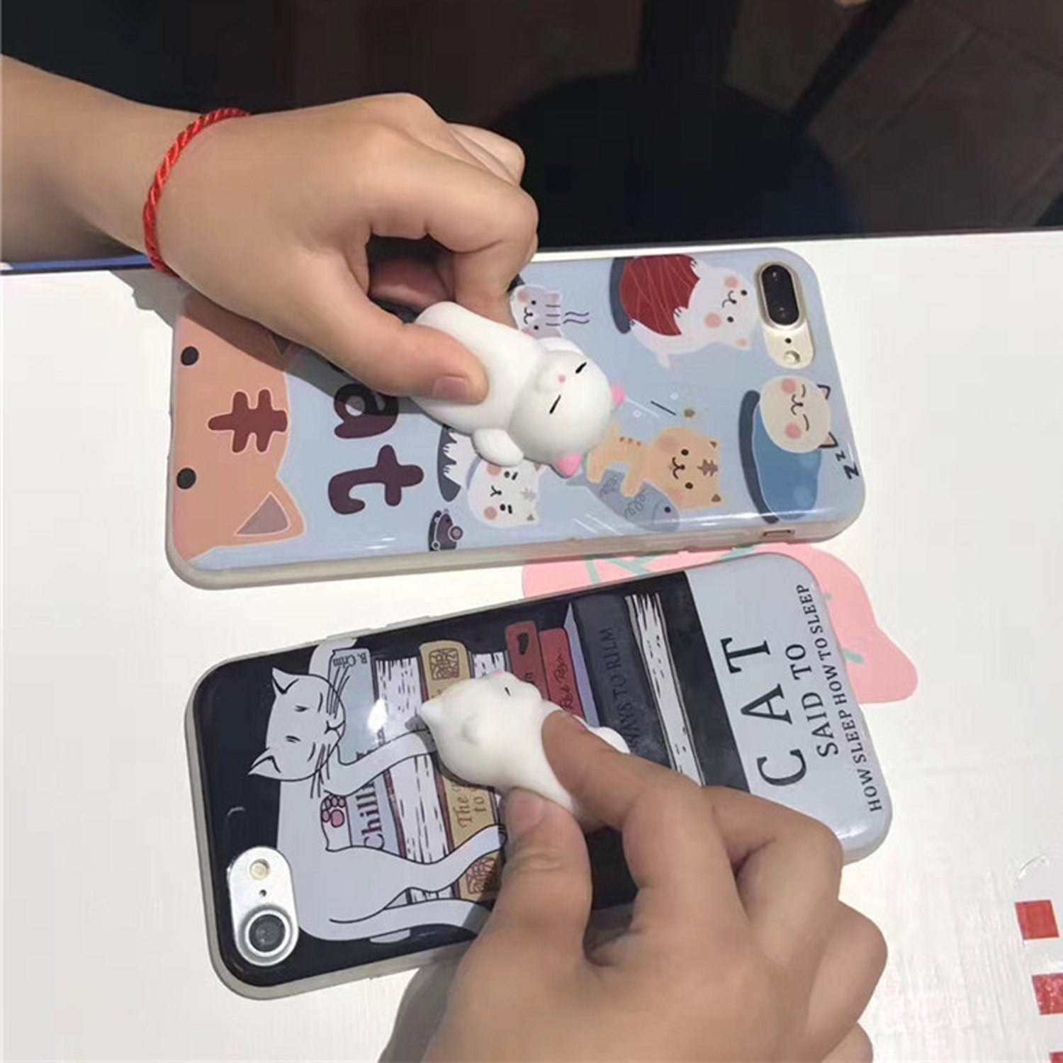 Squishy survival 9 - A Phone Case With A Squishy Cat Belly On The Back A Whole New Way To Play With Your Phone