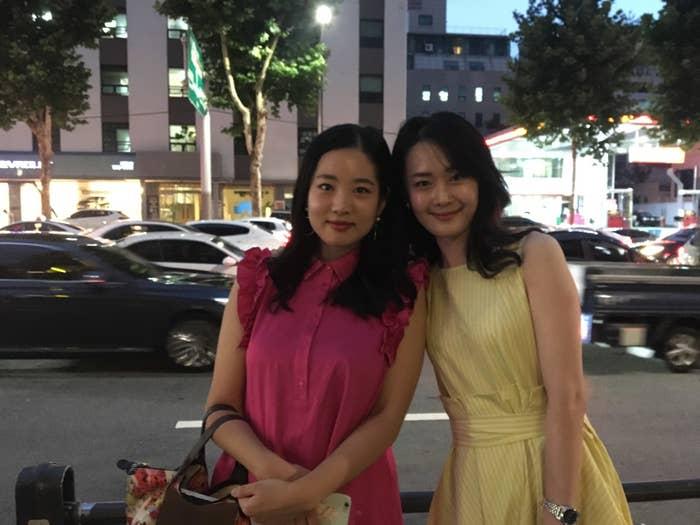 Seoul residents Ye-won Lee, 31, and Kim Ji-su, 26