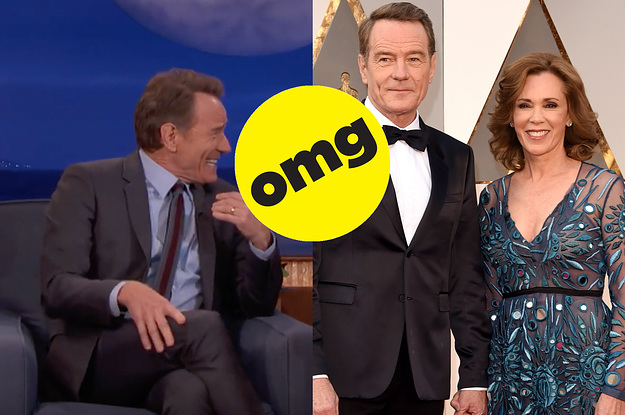 Bryan Cranston Got Caught Having Sex On A Train During His Honeymoon And It's Honestly Hilarious