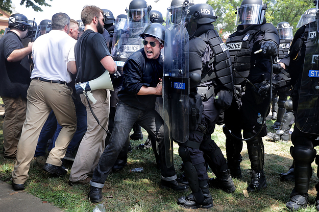 Shocking Photos From The Violent White Supremacist Rally In Charlottesville