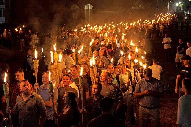 Hundreds Of Torch-Wielding White Nationalists Marched Through The University Of Virginia On Friday Night