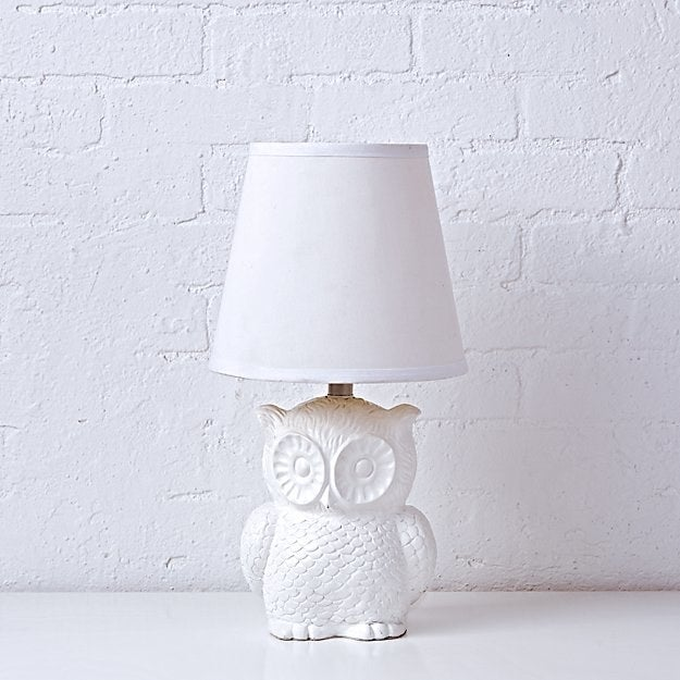 This lamp will make studying a hoot.Get it on Land of Nod for $79.