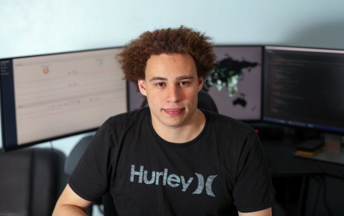 Marcus Hutchins, digital security researcher for Kryptos Logic, in Ilfracombe, UK, on July 4, 2017.