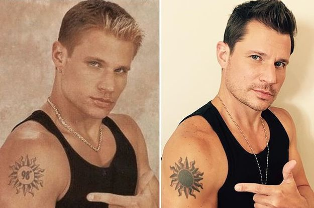Nick Lachey Covered Up His 98 Degrees Tattoo And I Feel ...