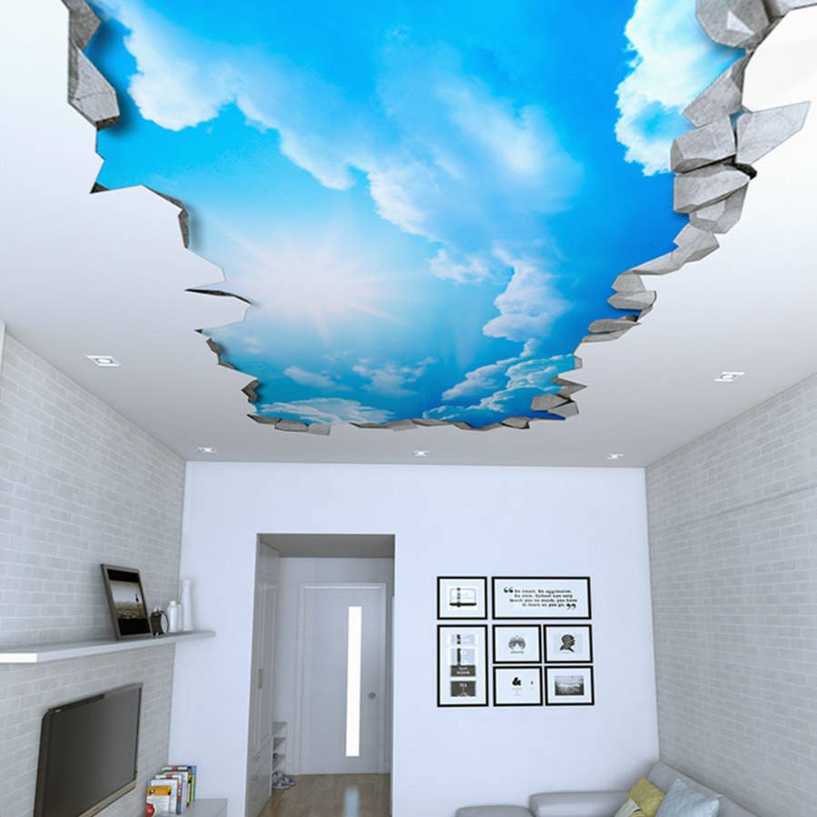 21 Ridiculously Clever Ways To Decorate Your Ceiling
