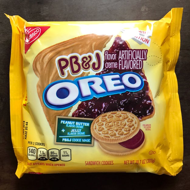 If you love Oreos, then you already know that Nabisco recently debuted a limited edition peanut butter & jelly flavor into the world.