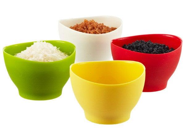 silicone pinch bowls