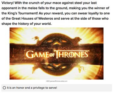 """20 """"Game Of Thrones"""" BuzzFeed Quizzes For You To Take"""