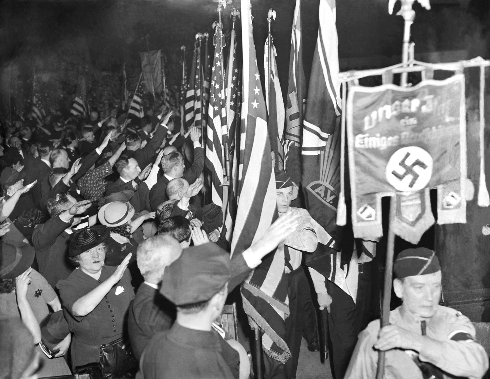 the history of the nazi party Rise of the nazi party: in power programme length 1 hour screening details monday 10 august at 930am est/ nz this programme describes and discusses the me.