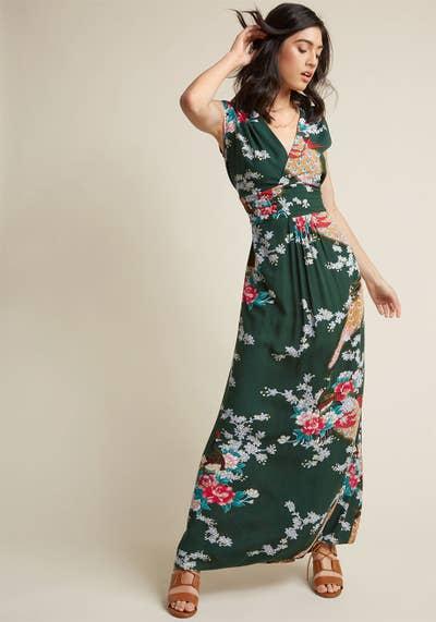 7defa01f6efe A maxi dress known to make wearers feel like a living, breathing garden.