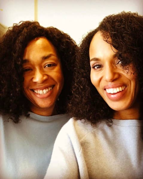 Kerry washington ditched the weave and her real hair is actually last year washington confirmed to redbook that her hair is indeed natural id been relaxing my hair since i was a little girl so part of going natural pmusecretfo Choice Image