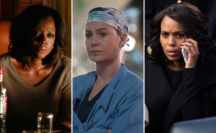 How to Get Away With Murder, Grey's Anatomy, Scandal