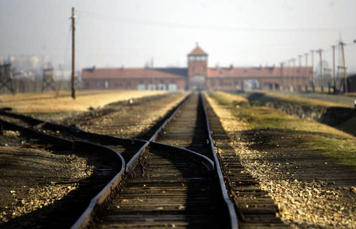 アウシュヴィッツ強制収容所 AFP=時事