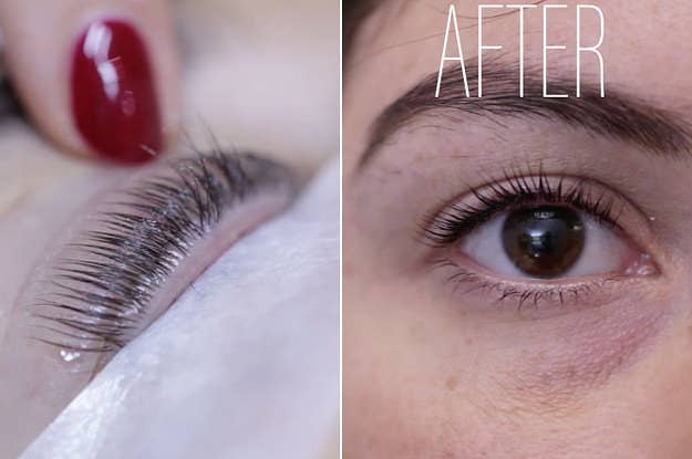 We Got Eyelash Lifts And Our Lashes Looked Insane