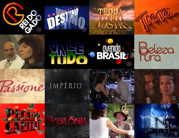 Quantas Destas Novelas Da Globo Você Já Viu