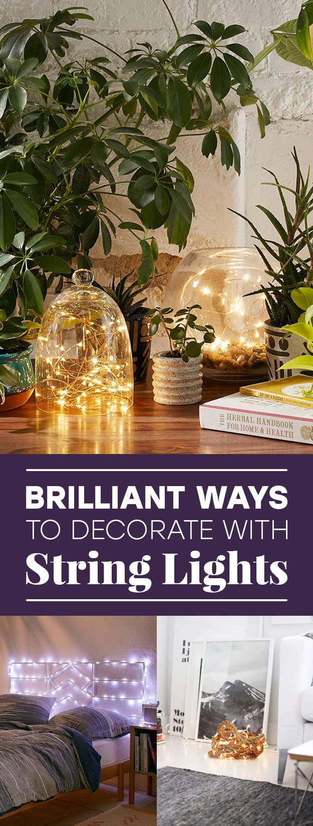 26 Gorgeous Ways To Decorate Your Home With String Lights Wiring Pot A Tutorial Kinda Mom And Her Drill We Hope You Love The Products Recommend Just So Know Buzzfeed May