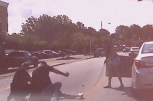 Video Shows White Ohio Police Officer Punching A Black Man In The Face