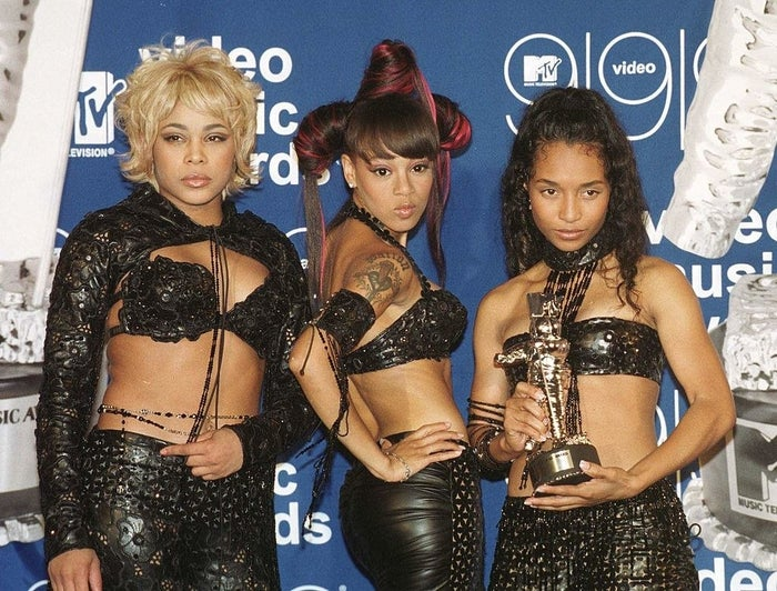 The song's writers, Max Martin and Rami Yacoub, wrote the lyrics with TLC in mind, but the trio rejected the offer because it didn't embody the female empowerment their songs usually had.