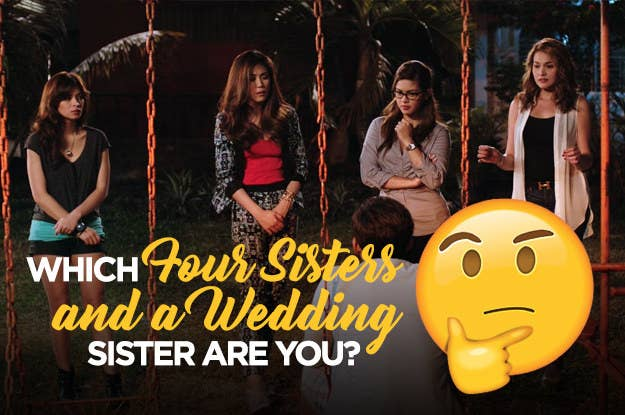 Which Sister From Four Sisters And A Wedding Are You