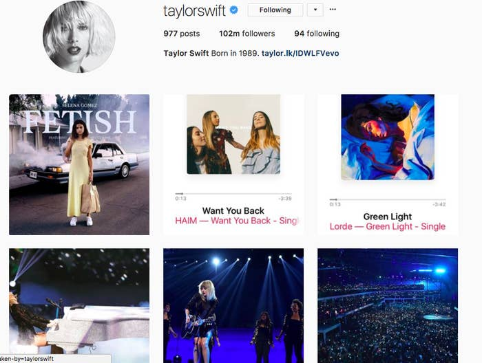 She has posted just 19 times on Instagram since the start of the year, and her Tumblr account, which was incredibly active during the height of 1989, has laid virtually dormant for months.