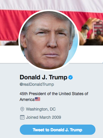 It's been a weird 12 hours in Trump Twitter (yes, even more so than normal).