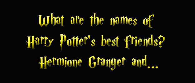 How Crap Is Your Harry Potter Knowledge?