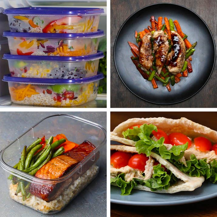 Lunch Meal Prep 5 Ways