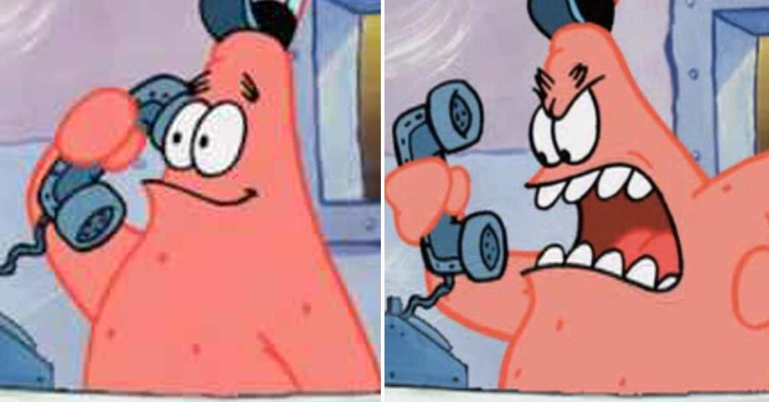 These Iconic Character Voices Have Shocking Pasts That ... |Spongebob And Patrick Mad