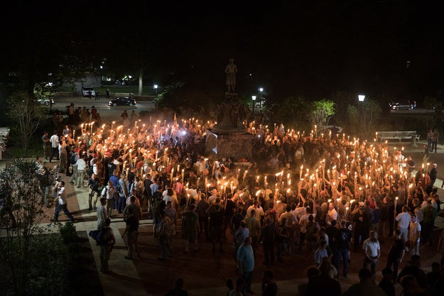 Tyler Magill, a University of Virginia Library employee, suffered a stroke three days after he was caught in violent clashes with tiki torch–wielding white supremacists who descended on a group of students protesting them in Charlottesville on Friday.