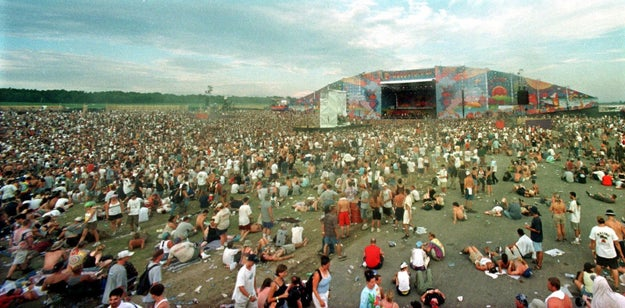 "Woodstock 1999 was held over three days in the middle of nowhere in upstate New York. It's literally described as ""the day the nineties died."""