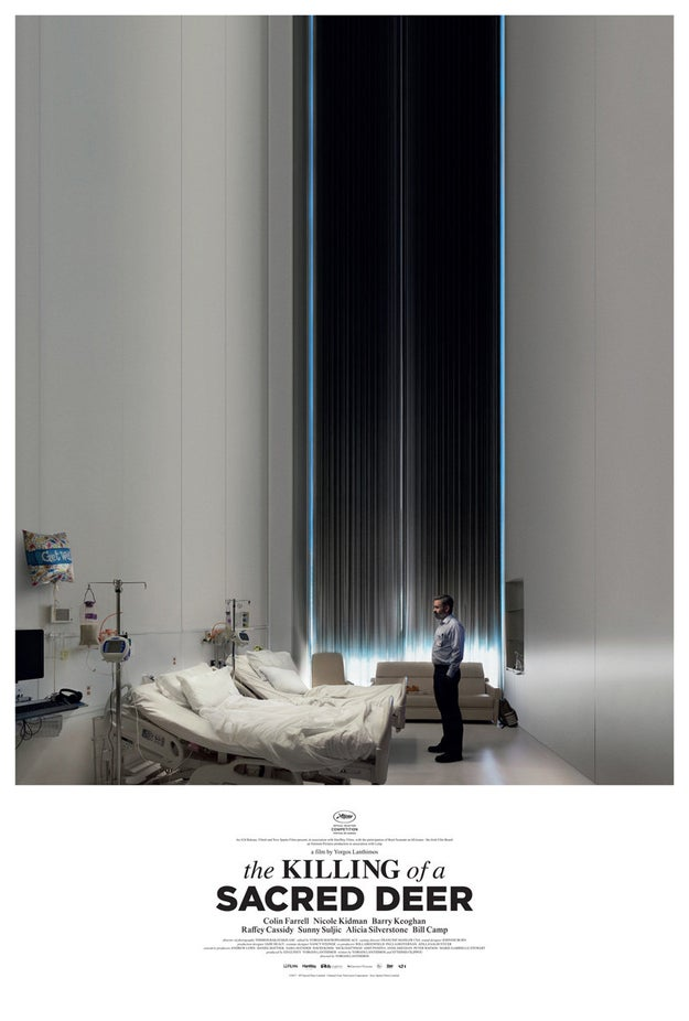 The film, mysteriously titled The Killing of a Sacred Deer, has very little info out about it, though it was nominated for the Palme d'Or and won Best Screenplay at the 2017 Cannes Film Festival.