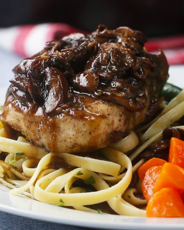Cooking for someone special you cant go wrong with this easy cooking for someone special you cant go wrong with this easy juicy chicken marsala forumfinder Choice Image