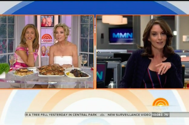 "Tina Fey Showed The Receipts When Kathie Lee Gifford Accused Her Of Snubbing ""The Today Show"""