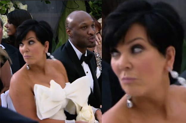 Kris Jenner Told Kim To Run Away The Night Before Her Wedding To Kris Humphries