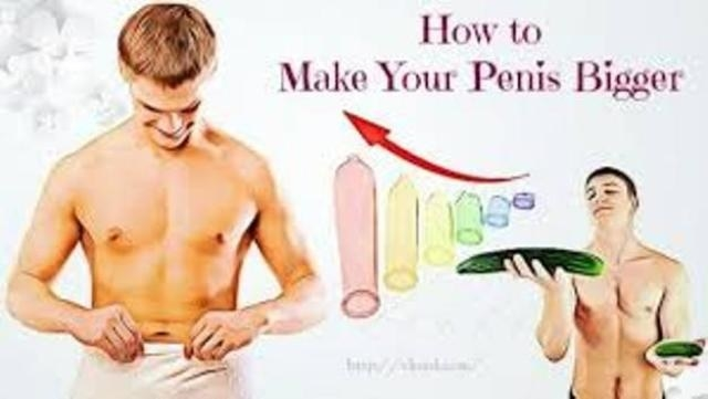 Penis Enlargement home conditions