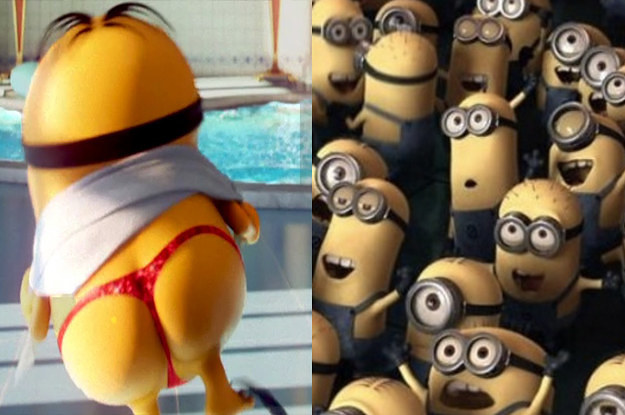 Guys, We Need To Talk About Minions And Their Private Parts