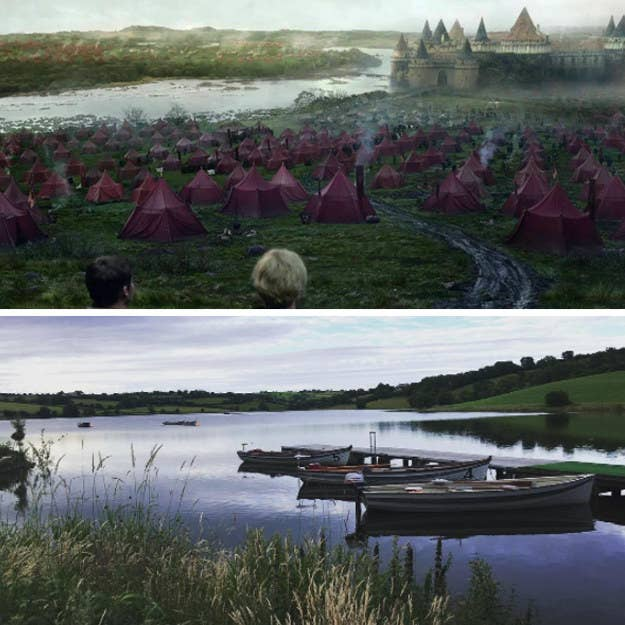 Este pequeño lago en Irlanda del Norte sirvió como hogar para el castillo de Riverrun. Por supuesto, el castillo actual no existe allí en la vida real, pero todavía sirve como una ubicación hermosa y tranquila, en particular cuando no hay un ejército de los Lannister acampado allí.